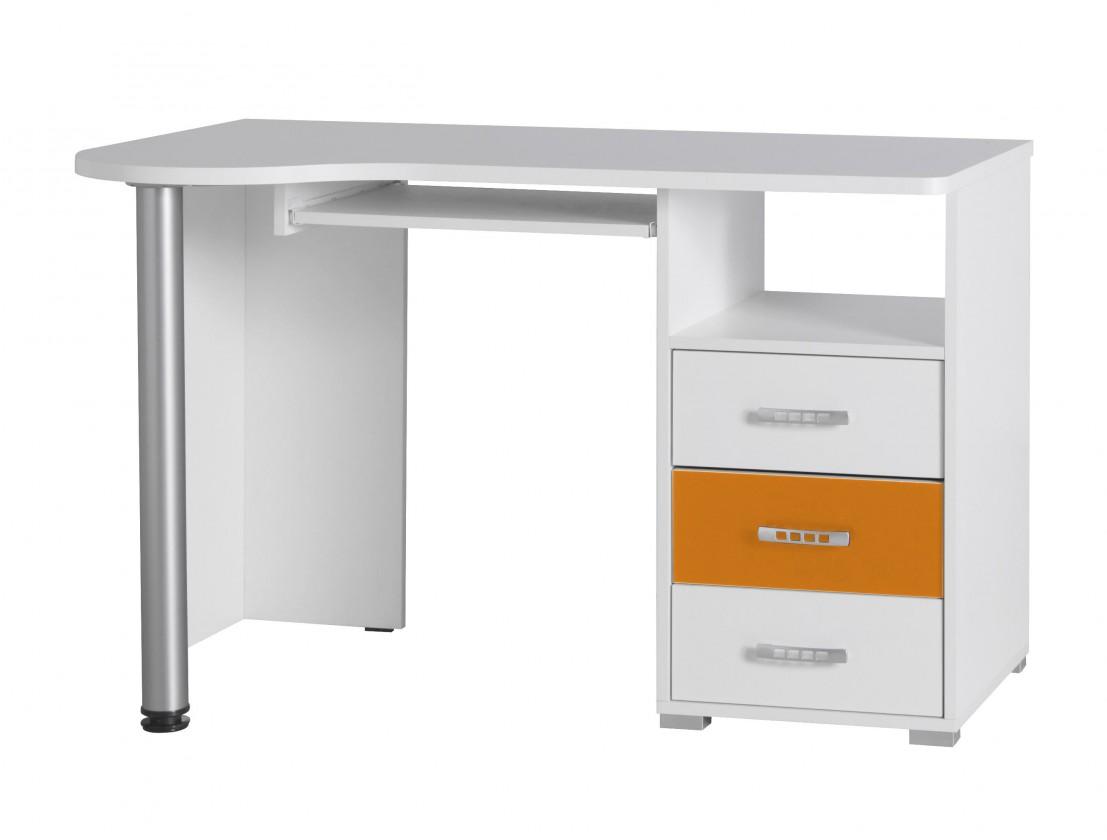 Dětský pracovní stůl Nemo 11 (bílá/oranžová)