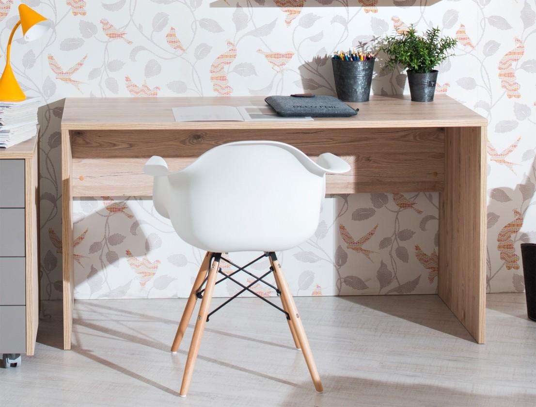 Dětský pracovní stůl Sand - Psací stůl 90 cm, typ 51 (dub)