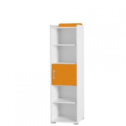 Dětský regál Nemo 5 (bílá/oranžová)