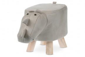 Dětský taburet Nosorožec šedá