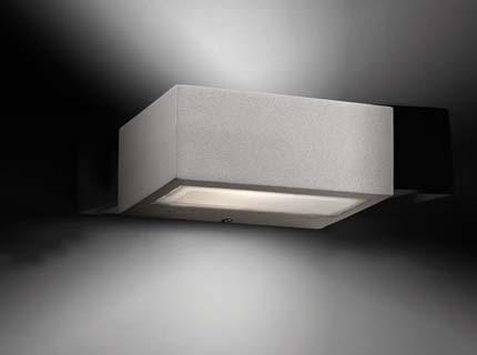Didot - Nástěnné svítidlo (světle šedá)