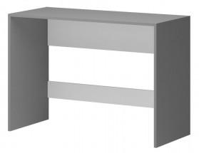 Diego 12 - Stůl (přední strana bílá/šedé boky)