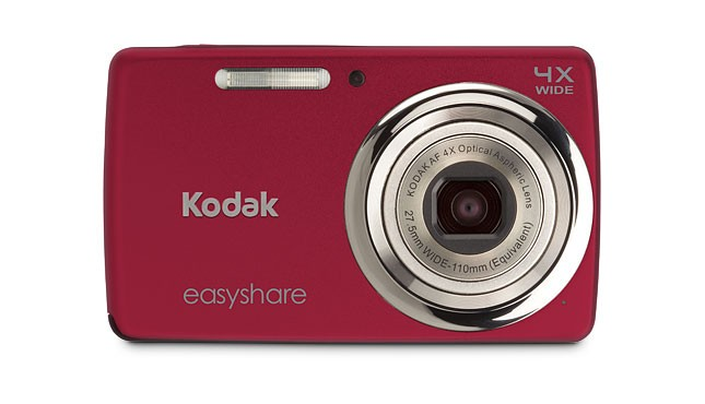 Digitální fotoaparáty Kodak EasyShare M532 Red