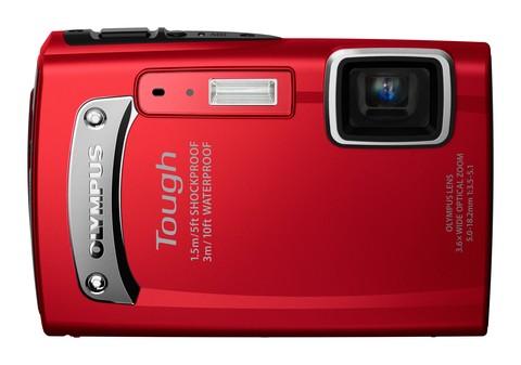 Digitální fotoaparáty Olympus TG-310 Red