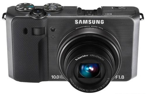 Digitální fotoaparáty Samsung EC-EX1, černý