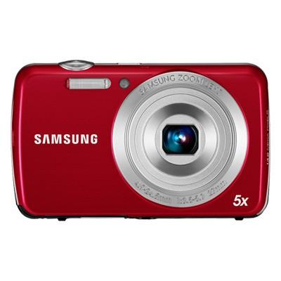Digitální fotoaparáty Samsung EC-PL20, červený