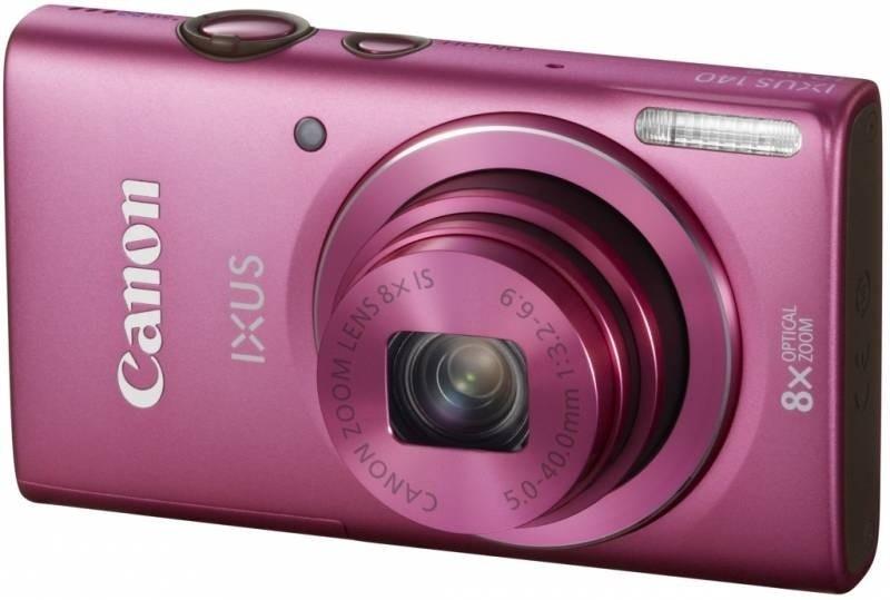 Digitální kompakt Canon IXUS 140 PNK