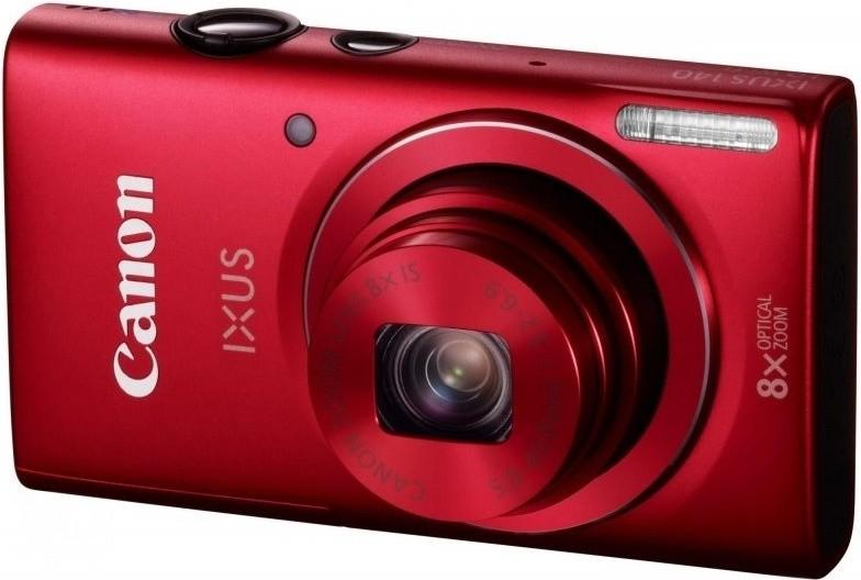 Digitální kompakt Canon IXUS 140 Red