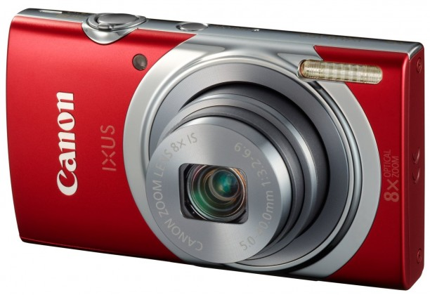 Digitální kompakt Canon IXUS 150 Red