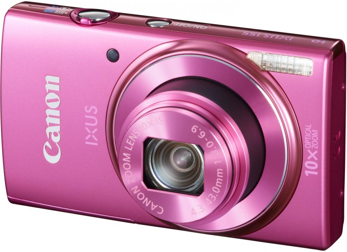 Digitální kompakt Canon IXUS 155 Pink