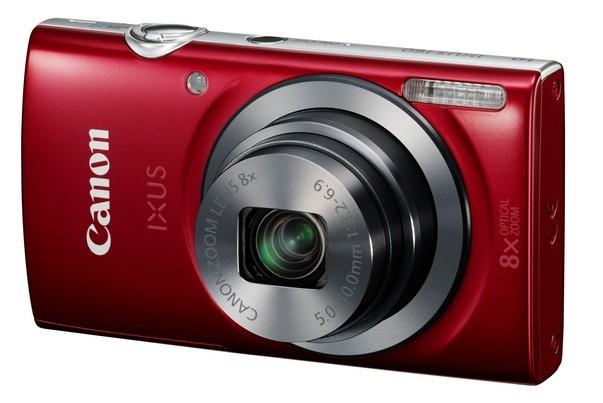 Digitální kompakt Canon IXUS 160 červený