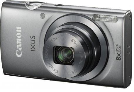 Digitální kompakt Canon IXUS 160 stříbrný