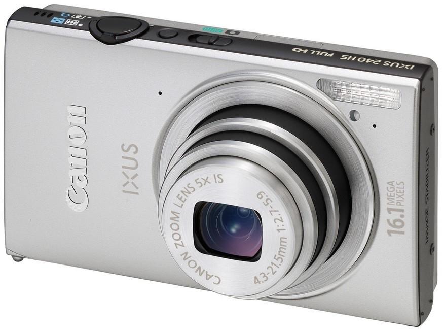 Digitální kompakt Canon IXUS 240 HS Silver