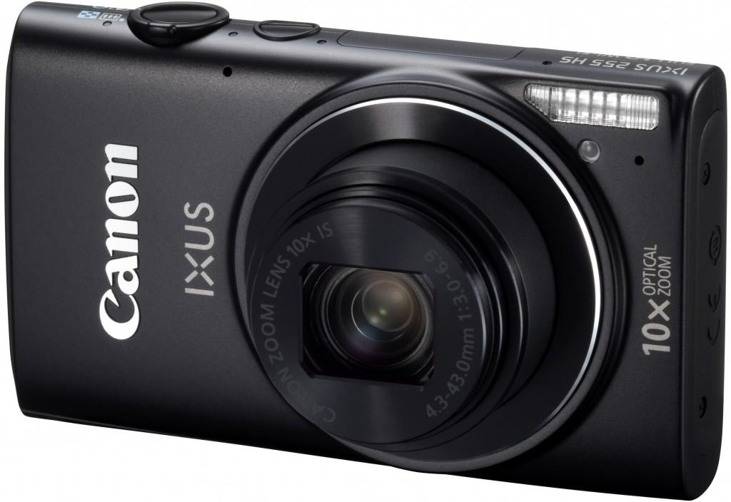 Digitální kompakt Canon IXUS 255 HS BLK