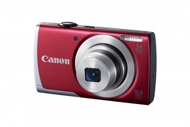 Digitální kompakt Canon POWERSHOT A2500 Red