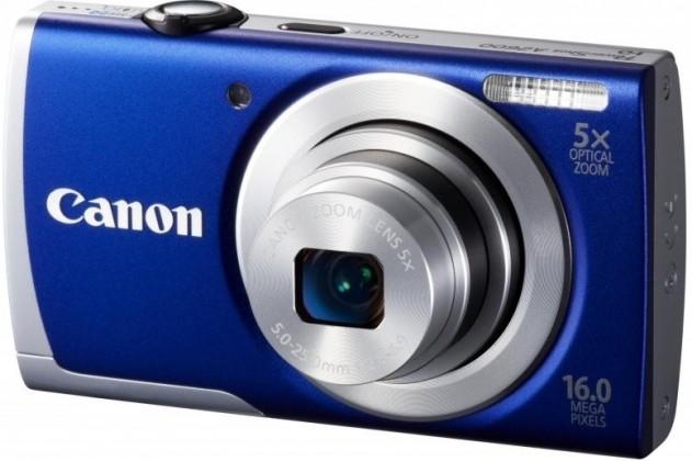 Digitální kompakt Canon POWERSHOT A2600 Blue