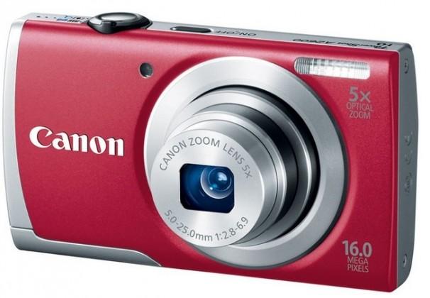 Digitální kompakt Canon POWERSHOT A2600 Red