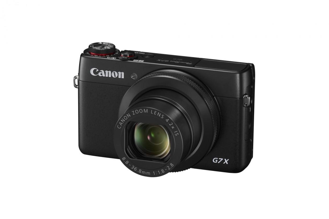 Digitální kompakt Canon PowerShot G7 X, 20.2Mpix, 4.2x zoom - černý