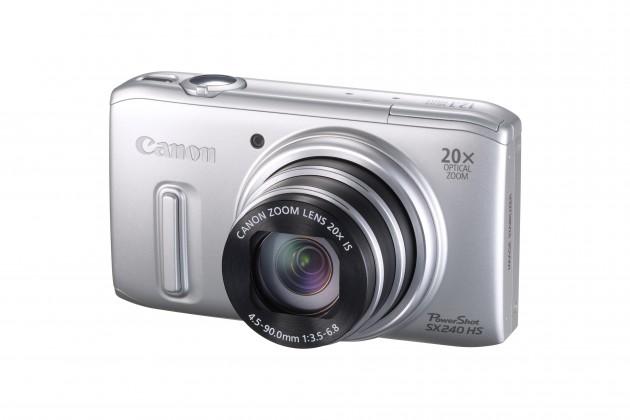 Digitální kompakt Canon POWERSHOT SX 240 HS Silver