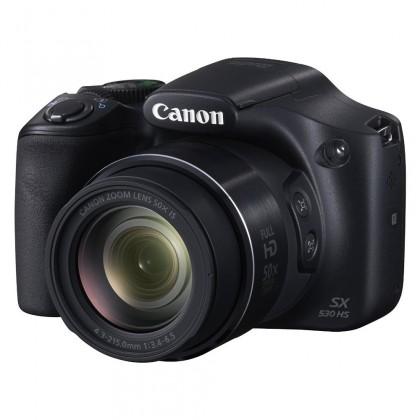 Digitální kompakt Canon PowerShot SX530 HS kompakt 16 MPix, 50x zoom - černý