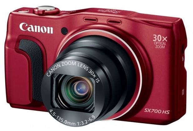 Digitální kompakt Canon PowerShot SX700 HS Red