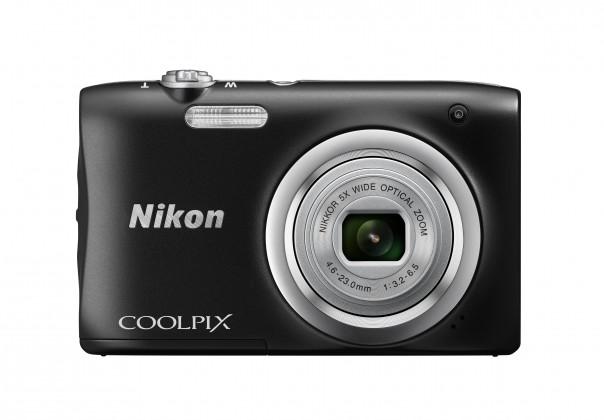 Digitální kompakt Digitální fotoaparát Nikon Coolpix A100, černá