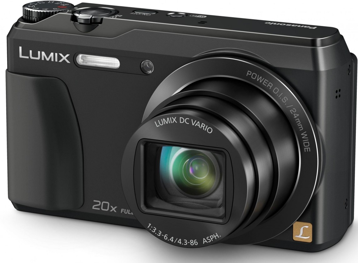 Digitální kompakt Digitální fotoaparát Panasonic ADMC-TZ55EP-K