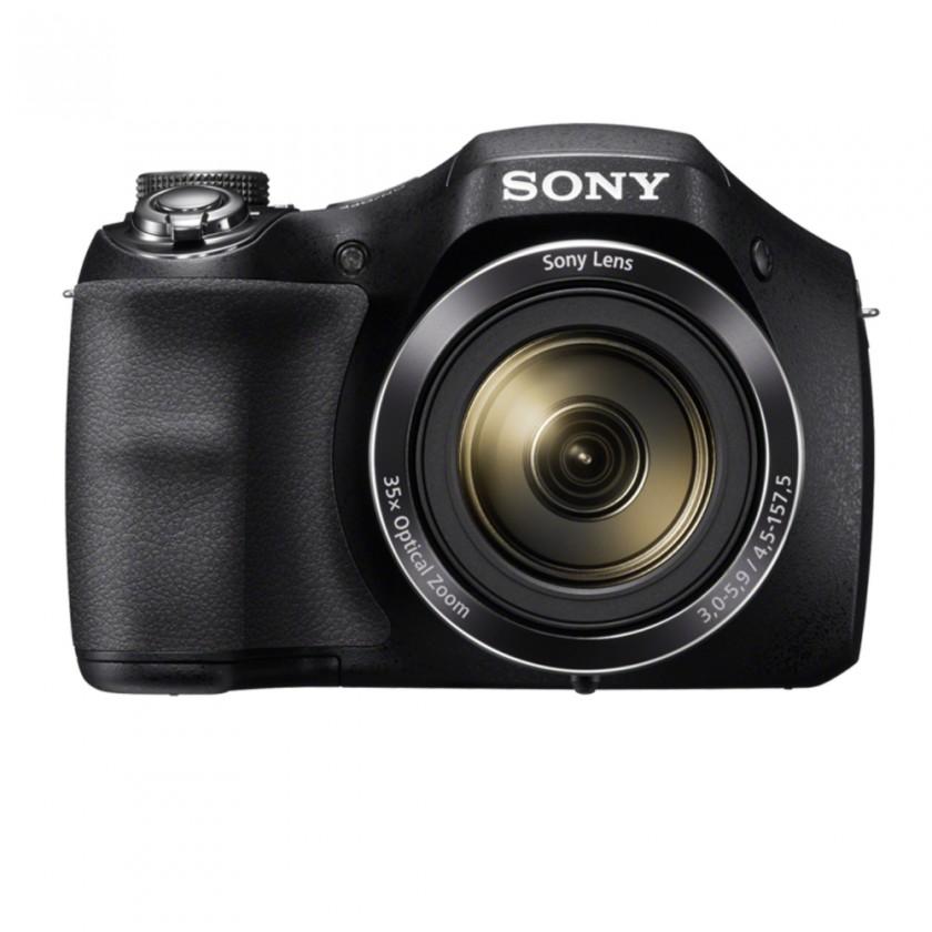Digitální kompakt Digitální fotoaparát Sony Cybershot DSC-H300, černá