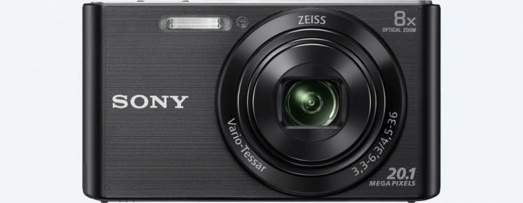 Digitální kompakt Digitální fotoaparát Sony Cybershot DSC-W830, černá