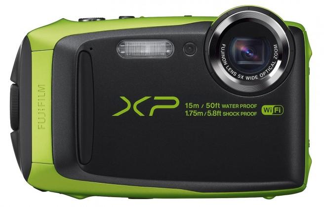 Digitální kompakt Fujifilm FinePix XP90,lime