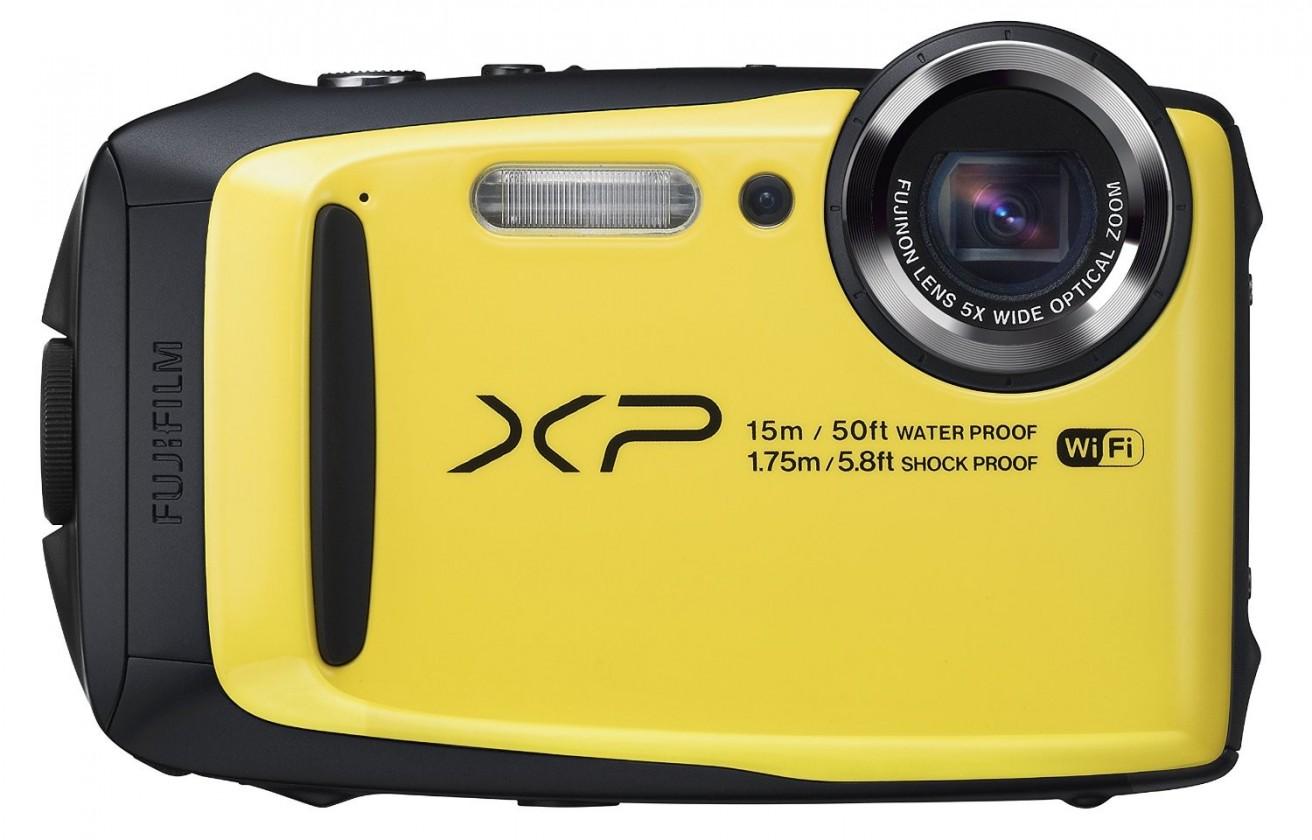 Digitální kompakt Fujifilm FinePix XP90, yellow