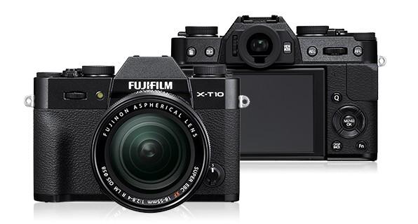 Digitální kompakt Fujifilm X-T10 Black + objektiv XF18-55mm ROZBALENO