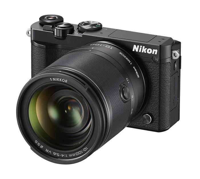 Digitální kompakt Nikon 1 J5 + 10-100mm black