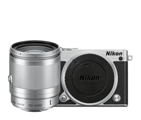 Digitální kompakt Nikon 1 J5 + 10-100mm silver
