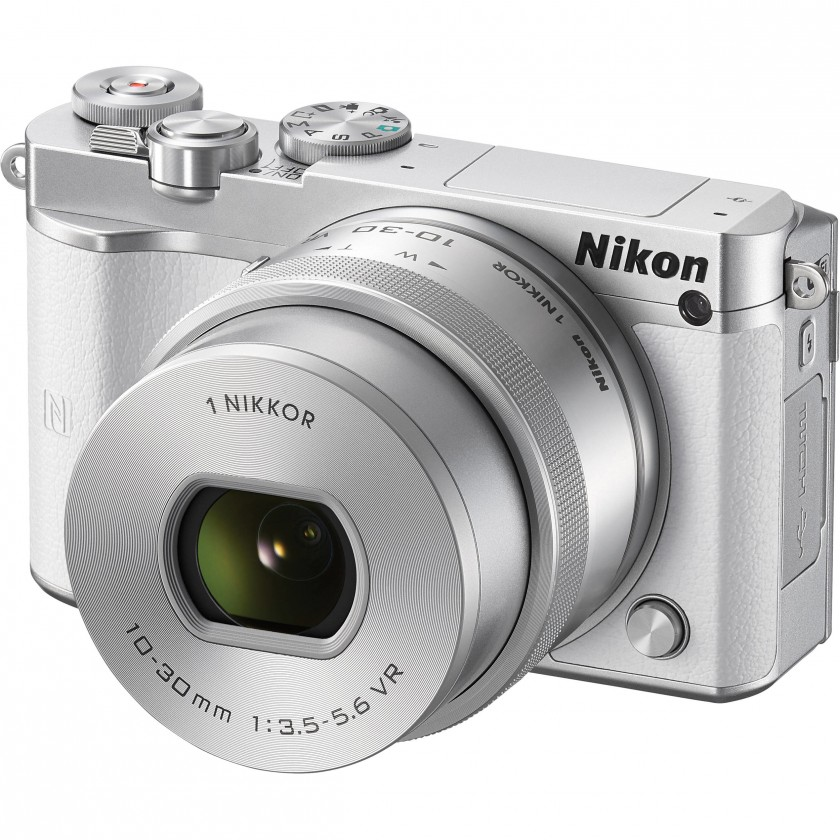 Digitální kompakt Nikon 1 J5 + 10-30mm white
