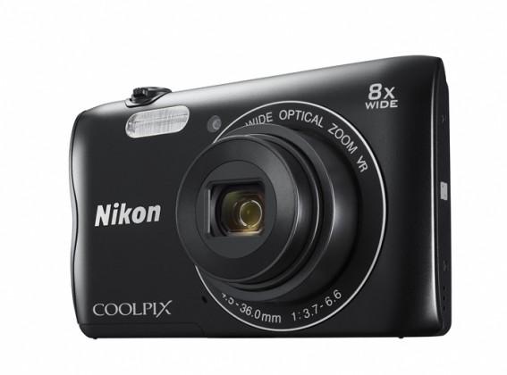 Digitální kompakt NIKON COOLPIX A300 BLACK