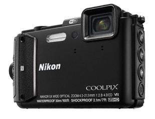 Digitální kompakt Nikon COOLPIX AW130 black diving kit