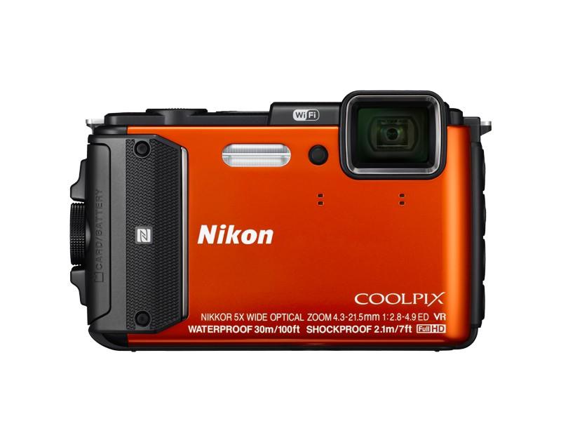 Digitální kompakt Nikon COOLPIX AW130 orange