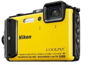 Digitální kompakt Nikon COOLPIX AW130 yellow diving kit