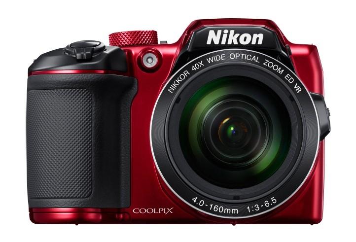 Digitální kompakt NIKON COOLPIX B500 Red