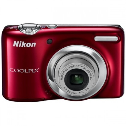 Digitální kompakt Nikon Coolpix L25 Red