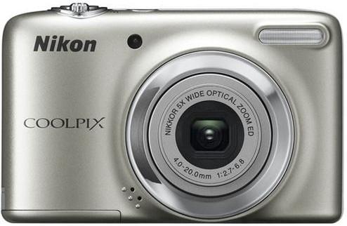 Digitální kompakt Nikon Coolpix L25 Silver
