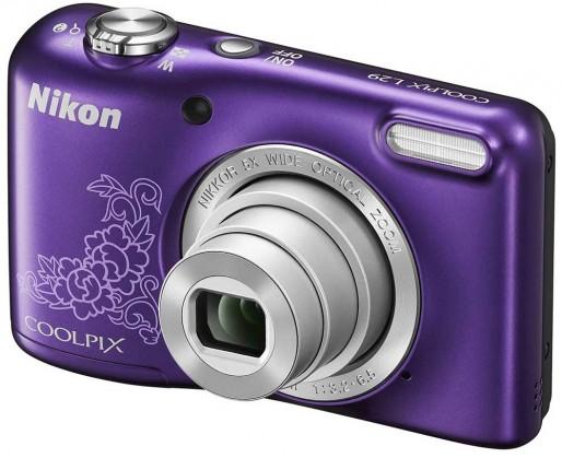Digitální kompakt Nikon Coolpix L29 Purple Lineart