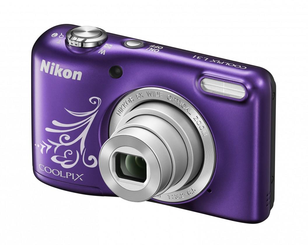 Digitální kompakt Nikon COOLPIX L31 purple