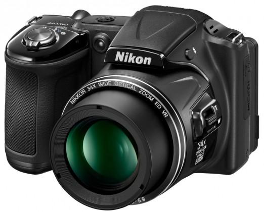 Digitální kompakt Nikon Coolpix L830 Black