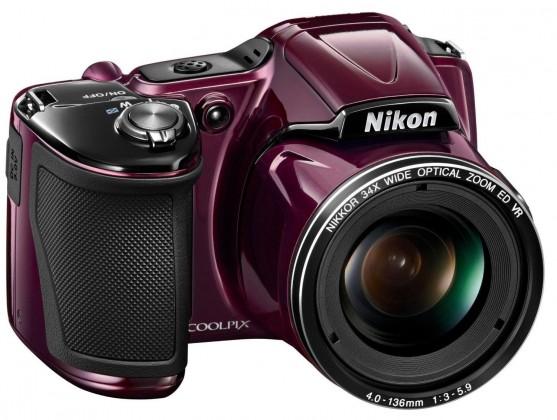Digitální kompakt Nikon Coolpix L830 Red