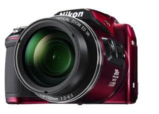 Digitální kompakt Nikon COOLPIX L840 red + pouzdro