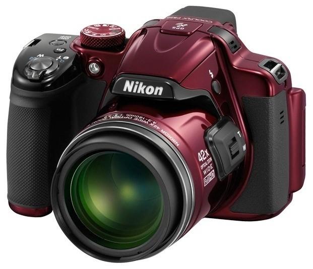 Digitální kompakt Nikon Coolpix P520 Red