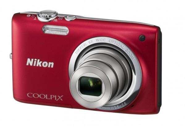 Digitální kompakt Nikon Coolpix S2700 Red