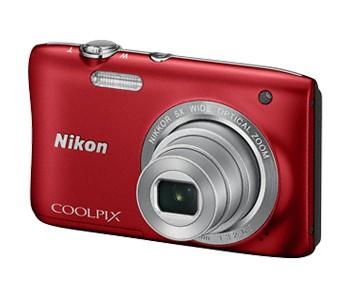 Digitální kompakt NIKON COOLPIX S2900 - 20,1 MP, 5x zoom - Red
